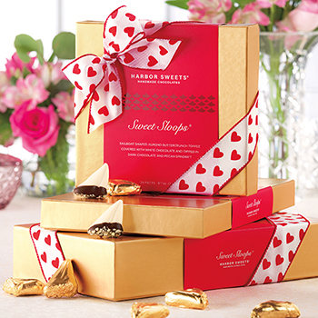 Valentine Sweet Sloops Gift Box - Valentine Sweet Sloops Gift Box 24 pc