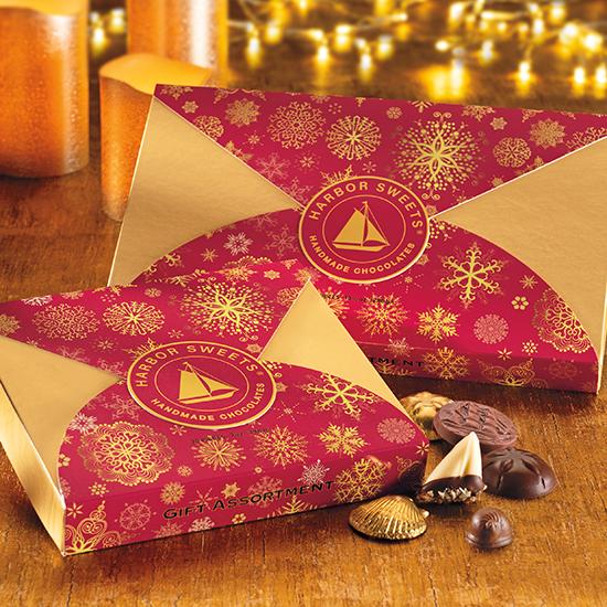 Snowflake Wrap Gift Assortment  - 20pc