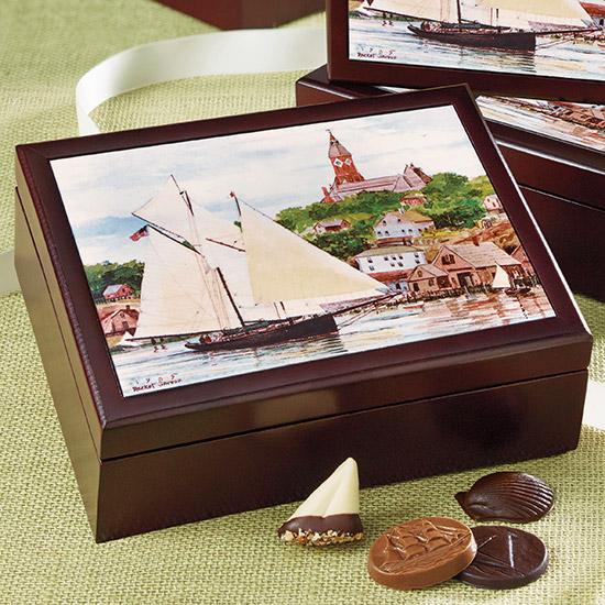 Keepsake Box Business Chocolate Gift - Harbor Sweets