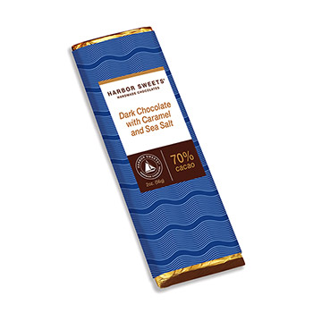Dark Chocolate & Caramel with Sea Salt Bar