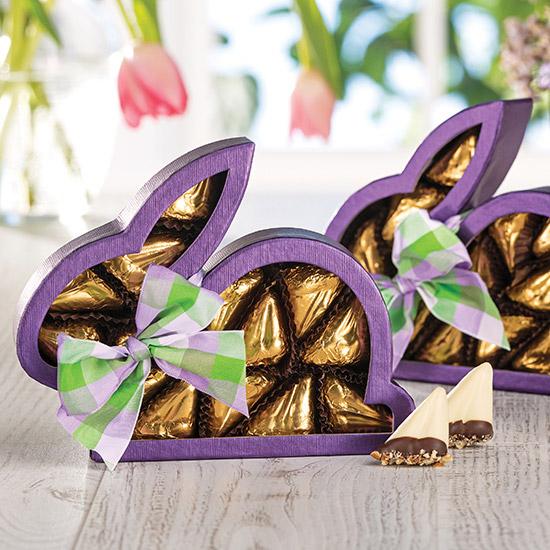 Purple Bunny Window Box