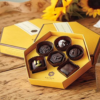 Gather Chocolate Gift Box - Gather Chocolates - 6 Piece