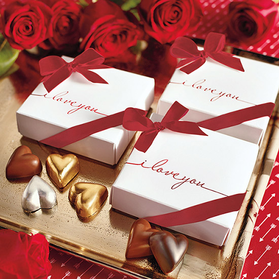 I Love You Chocolate Hearts -9 pc.