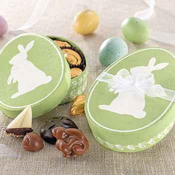 Green Bunny Egg Assortment