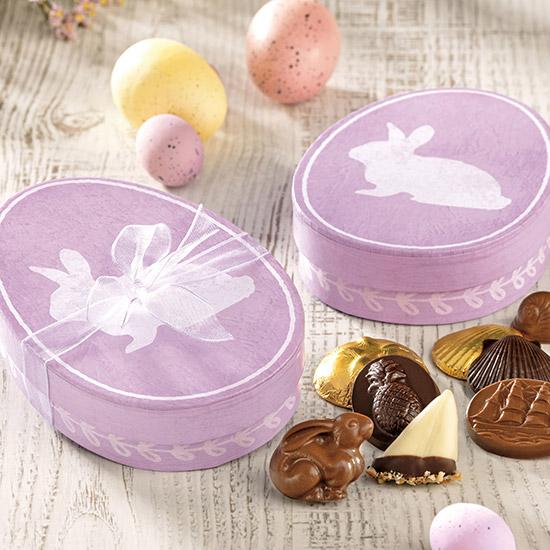 Bunny Egg Box Assortment - 12 pc.