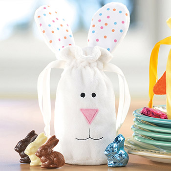 Fuzzy Bunny Bag -12 pc.