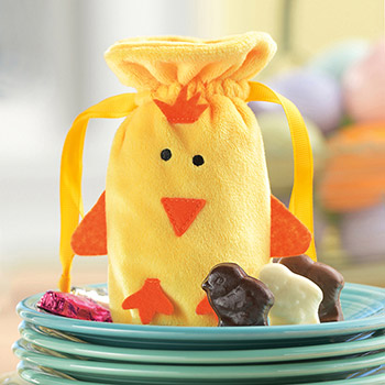 Fuzzy Chick Bag - 12 pc.