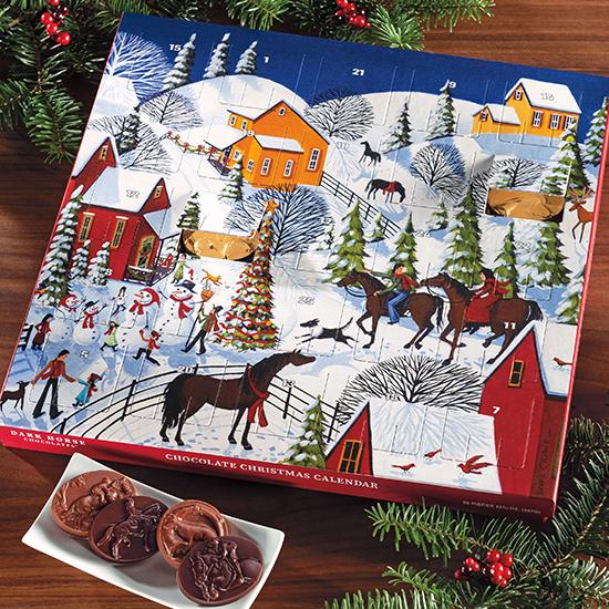 "Christmas Calendar ""A Gift From Grandma"" - 26 pc."
