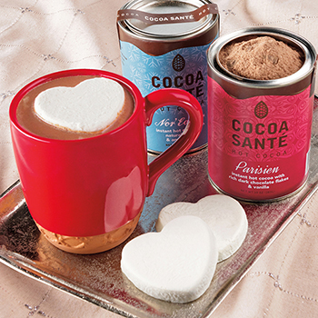 Valentine's Day Cocoa Sant&eacute Gift Set