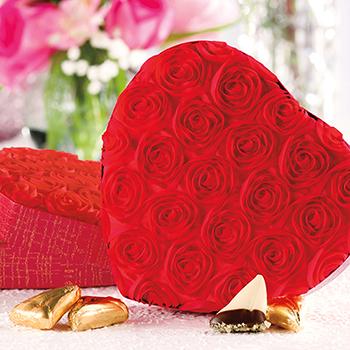 Rosebud Heart Box