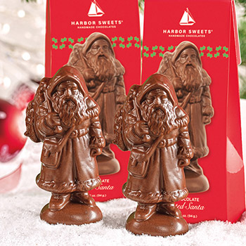 Assorted Santa - Milk Chocolate