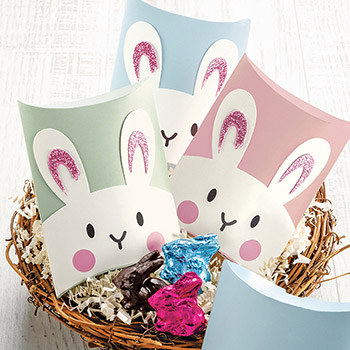 Bunny Favor Boxes - Bunny Favor Boxes- Set of 5