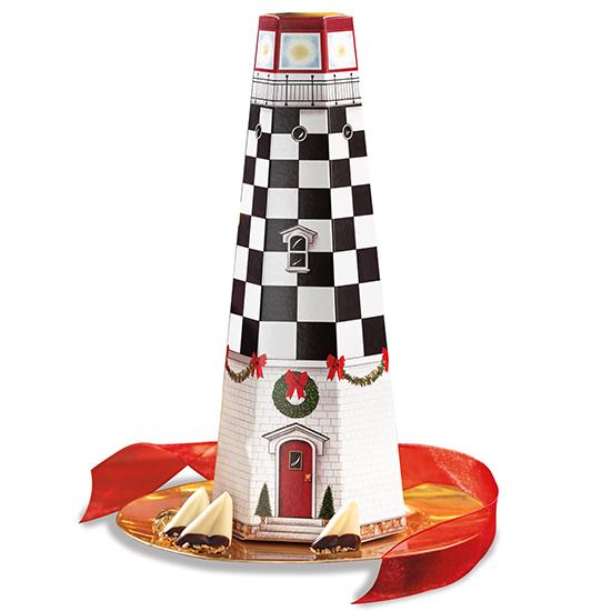 Christmas Lighthouse Box