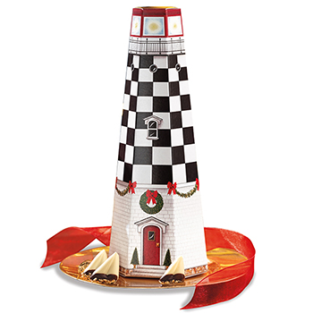 Christmas Lighthouse Box - 24 pc.