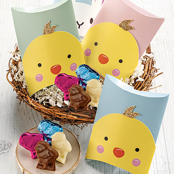 Chick Favor Boxes - Chick Favor Boxes- Set of 5