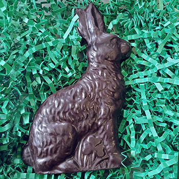 Dark Chocolate Bunny - Nut Free