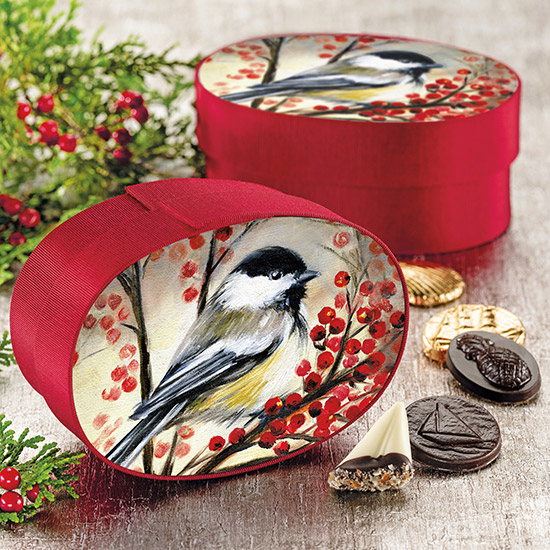 Chickadee Fabric Box Assortment -20 pc.