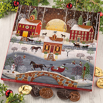 'Horse Trot Farm' Christmas Calendar - 26 pc.