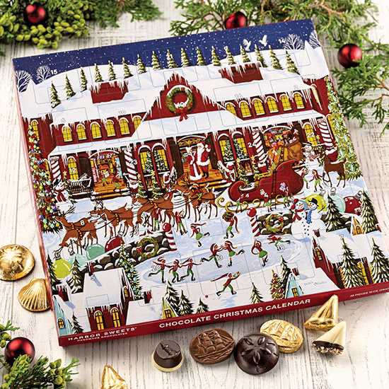 Santa's Workshop Christmas Calendar -28 pc.