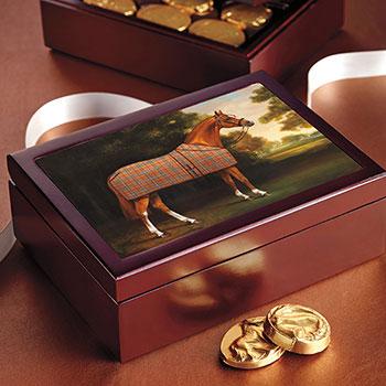"""Best Dressed Pony"" Wood Box - 24 pc."