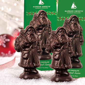 Assorted Santa-Dark Chocolate