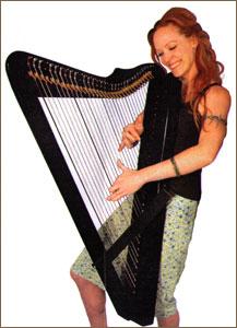 Sylvia Woods Harp Center Harpsicle Harp Company Grand
