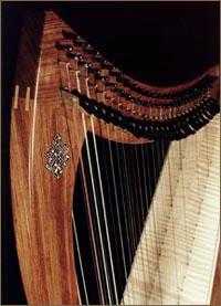 La harpe doublée ou Double-Strung Harp InlayKnotMed