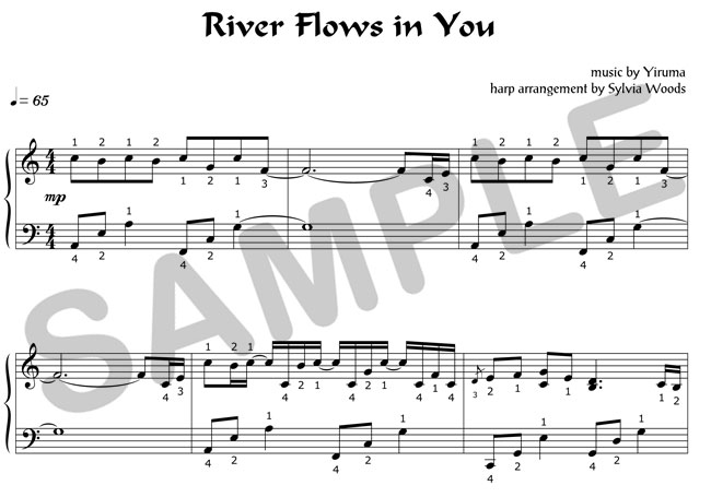 Lullaby river flows in you