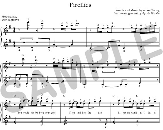To See A Sle Of The First Few Lines Music Fireflies: Cello Sheet Music For Fireflies At Alzheimers-prions.com