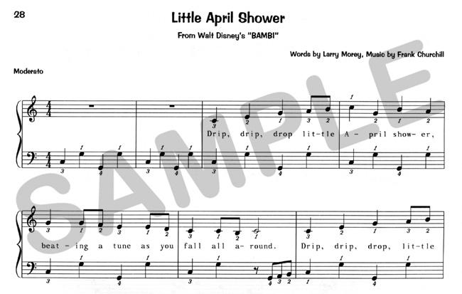 little april shower sheet music pdf