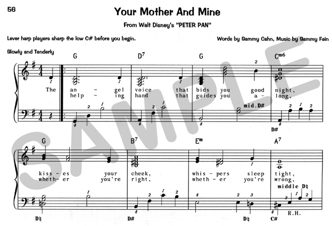 From Peter Pan: Sheet Music Mother Like Mine At Alzheimers-prions.com
