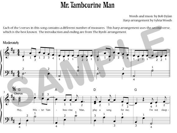 Harmonica u00bb Harmonica Tabs Mr Tambourine Man - Music Sheets, Tablature, Chords and Lyrics