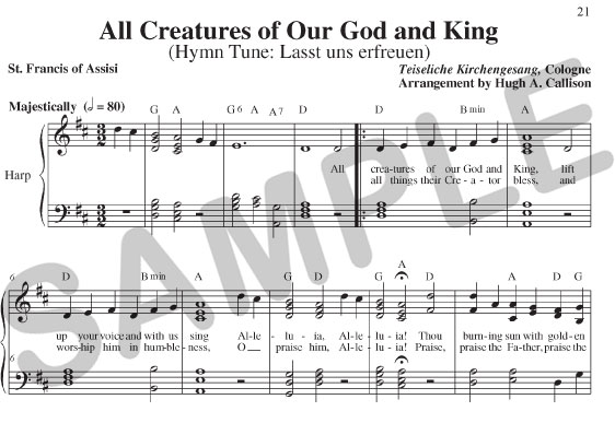 All Creatures Of Our God And King: Praise Him Blessed Savior Sheet Music At Alzheimers-prions.com