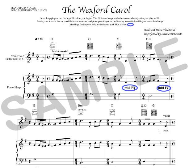 wexford carol text