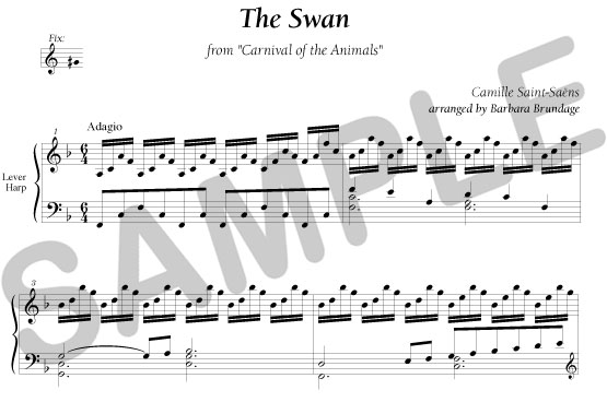 Sylvia Woods Harp Center - Classical Books & PDFs - The Swan