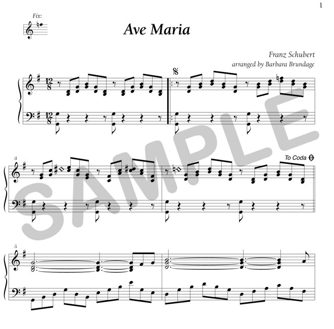 ave maria schubert piano solo sheet music pdf