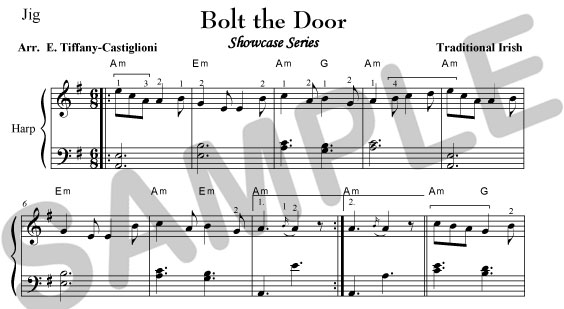 ... and Bolt the Door arranged by Evelyn Tiffany-Castiglioni PDF Download