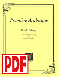 Premiere Arabesque (Debussy) by Barbara Brundage <span class='red'>PDF Download</span>