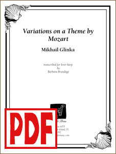 Variations on a Theme by Mozart (Glinka) by Barbara Brundage PDF Download