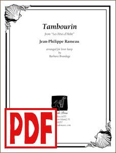 Tambourin (Rameau) by Barbara Brundage PDF Download