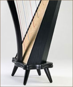 """Stand with 5"""" Legs for Ravenna 34 Harps"""