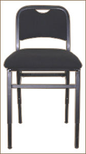 Adjustrite Musician's Harp Chair with Back by Vivo