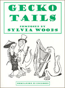 Gecko Tails book and CD Set by Sylvia Woods