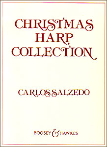 Christmas Harp Collection <span class='blue'>book</span> for PEDAL harp by Carlos Salzedo