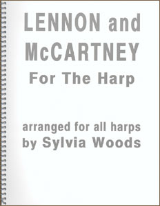 Lennon and McCartney For The Harp book by Sylvia Woods
