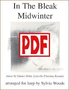 In the Bleak Midwinter Sheet Music by Sylvia Woods PDF Download