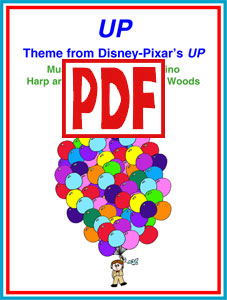 Up Theme arranged by Sylvia Woods PDF Download