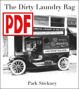 The Dirty Laundry Rag for pedal harp by Park Stickney <span class='red'>PDF Download</span>