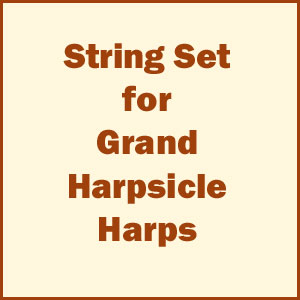 Complete Set of Strings for Grand Harpsicle