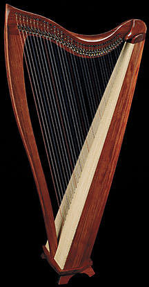 Dusty Strings FH36S Harp